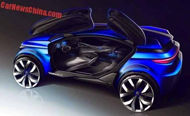 Jiangling jmc yuesheng s330 concept for J and s motors