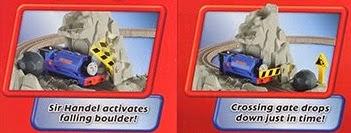 Bộ đồ chơi Handel Run Away Boulder Fisher Price V6752 thú vị hấp dẫn
