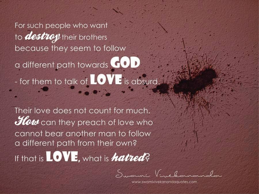 swami vivekananda quotes on love swami vivekananda quotes