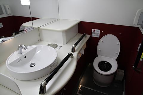 京王電鉄バス 長野線 プライムシングル仕様車 K51205 後部ワイドトイレ その1
