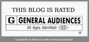 This Blog is rated G