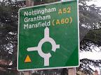 Πηγαίνοντας για Nottingham