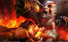 3 ares Kratos vs Helios Wallpaper