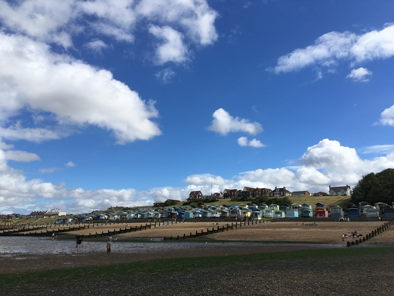 Tankerton from the Beach