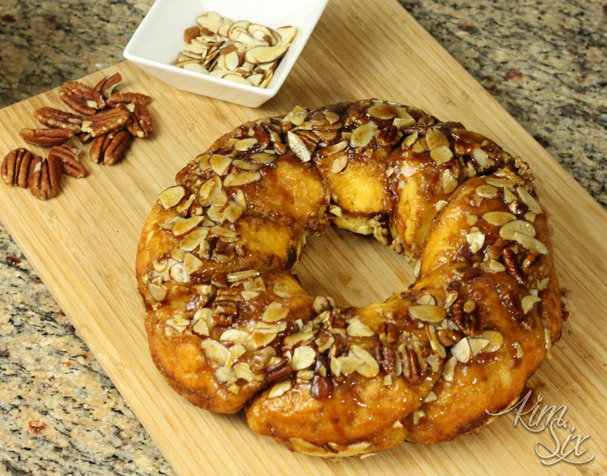 Easy Cinnamon Nut Ring