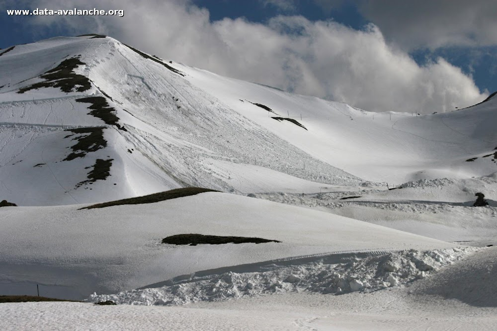 Avalanche Maurienne, secteur Grand Galibier - Photo 1 - © Duclos Alain