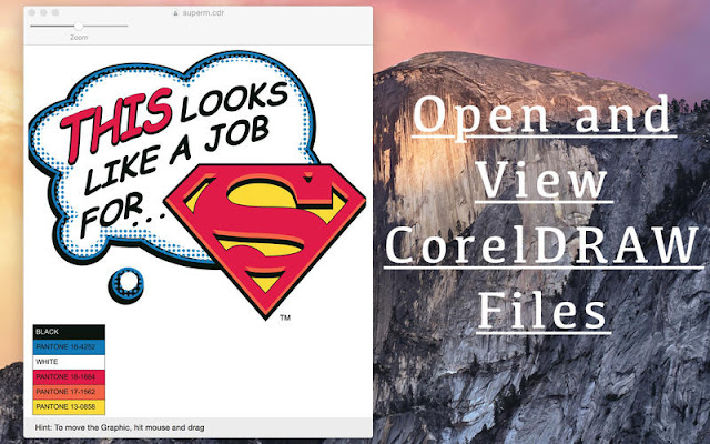 CDRViewer: Free Mac Software to Open & View CDR File