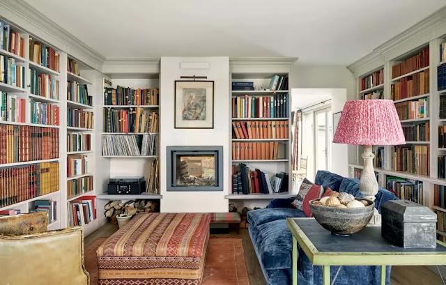 English Barn living room