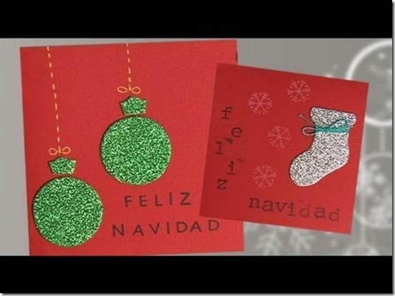 manualidades tarejtas navidad todonavidad info (35)