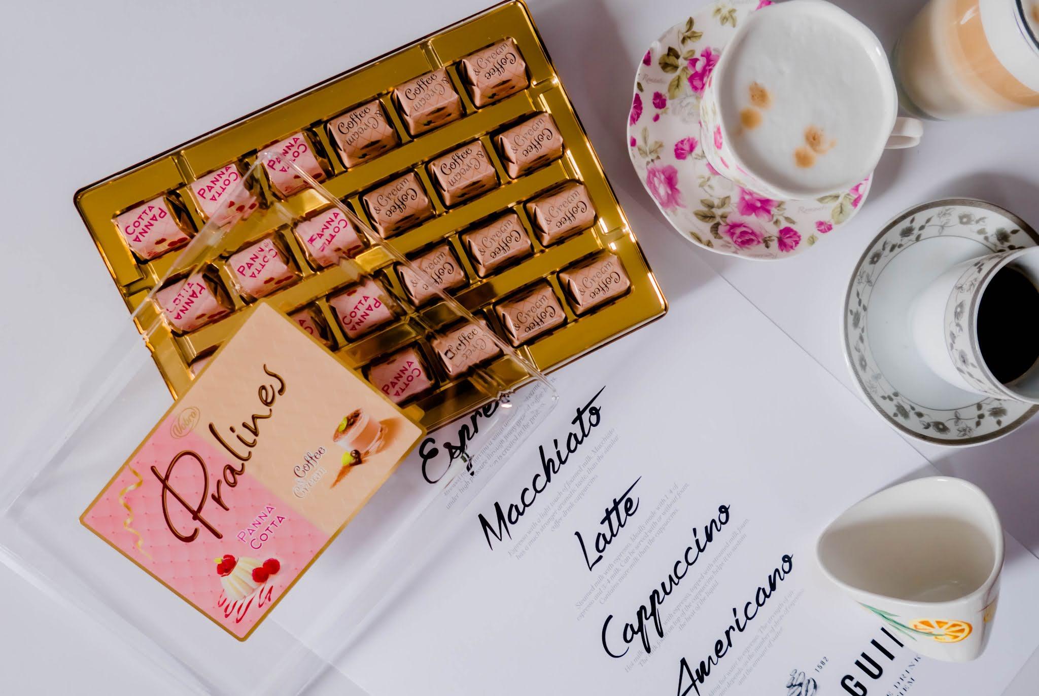 czekoladki o smaku włoskich deserów