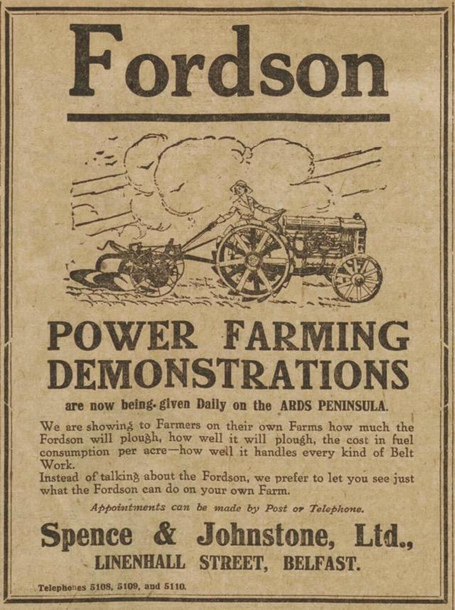 Fordson 1921