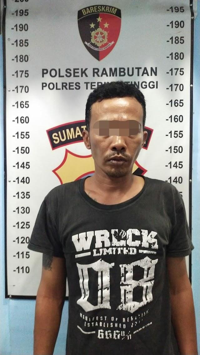 Unit Reskrim Polsek Rambutan Amankan Pelaku Curas Dalam Angkot