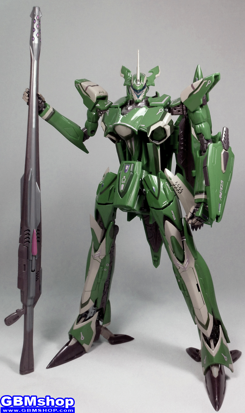 Macross Frontier VF-27 VF-27γ Gamma Lucifer Grace O'Connor Renewal Version Battroid Mode
