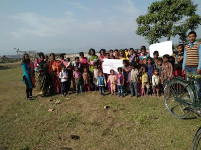 Action plan at Hatipota, Udalguri