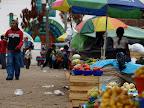 Markt auf dem Indianerdorf