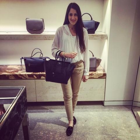 Professional Style Therapist: Celine Micro Luggage Bag