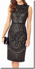 Phase Eight black lace dress 25% off