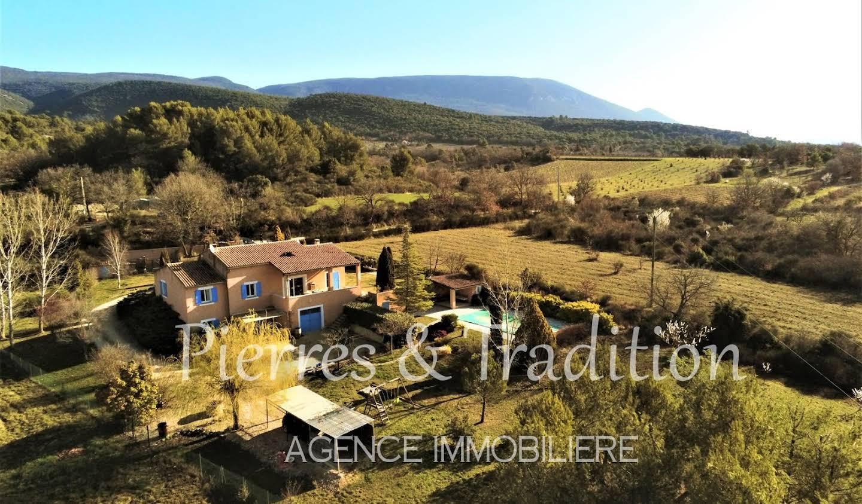 Maison avec piscine et terrasse Villars