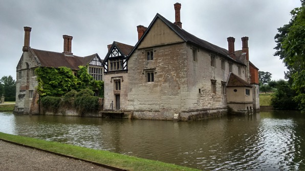 Baddesley Clinton from the side