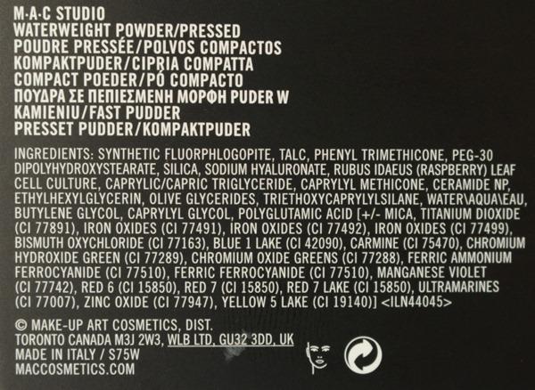StudioWaterweightPowderExtraLightMAC24