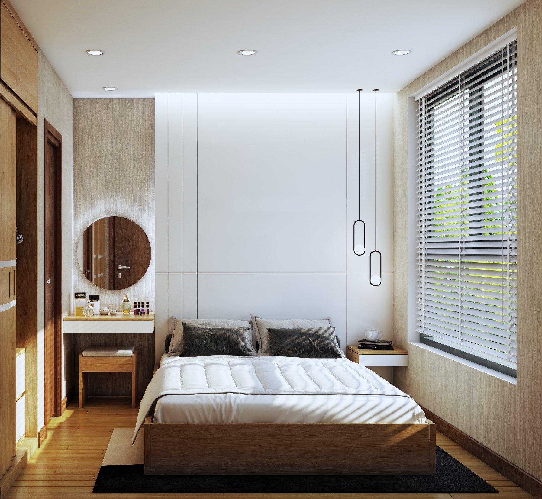 Nội thất phòng ngủ Bcons Suối Tiên
