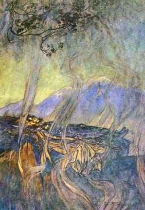 Brunhilde Magic Sleep, Asatru Gods And Heroes