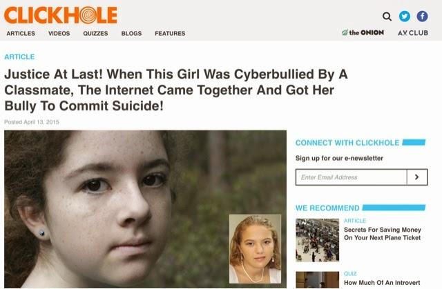 Clickhole Suicide Shame Article