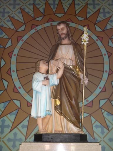 Imagem de São José - Santuário Sagrado Coração de Jesus, Vera Cruz/SP