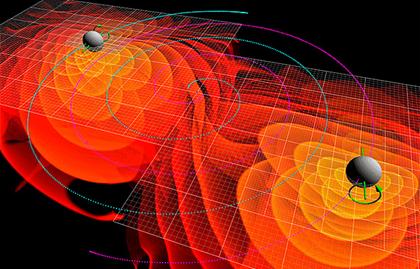 simulações numéricas das ondas gravitacionais