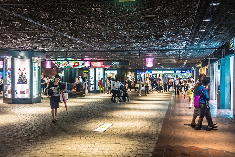 Underground Shopping Arcade