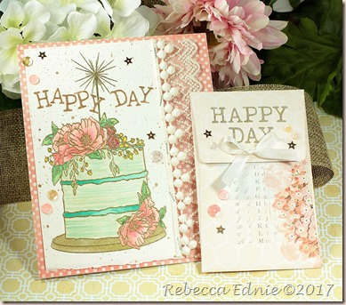c4c happy day cake and gift card holder