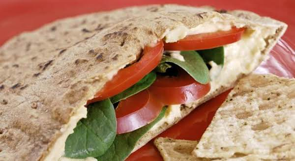 Pita Veggie Sandwich Recipe