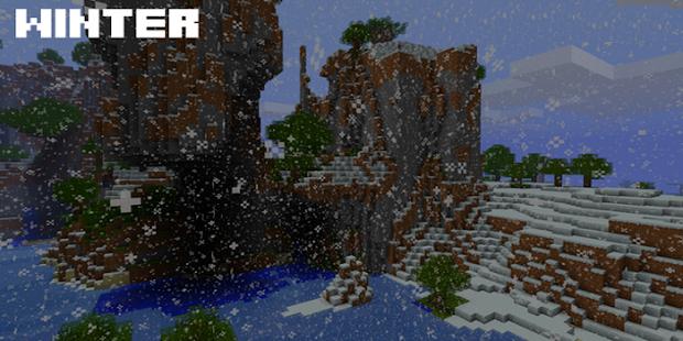 Seasons Mod Minecraft 2017 - náhled