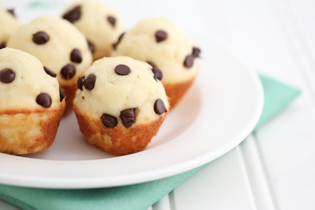 Mini Chocolate Chip Pancake Muffins
