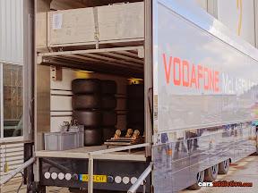 Vodafone Mclaren F1 Truck