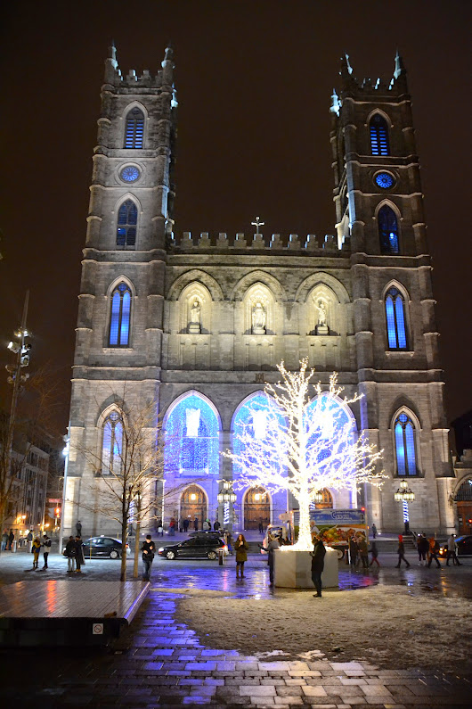 New Year's in Montreal and Quebec City