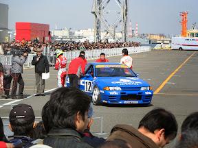 Nissan Blue R32 GT Racer