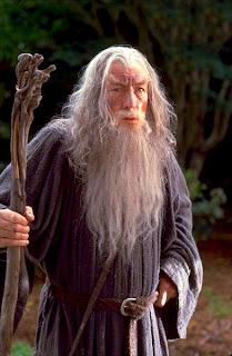Ian McKellen como Gandalf