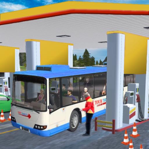 Gas Station Tourist Bus Driving Simulator (game)