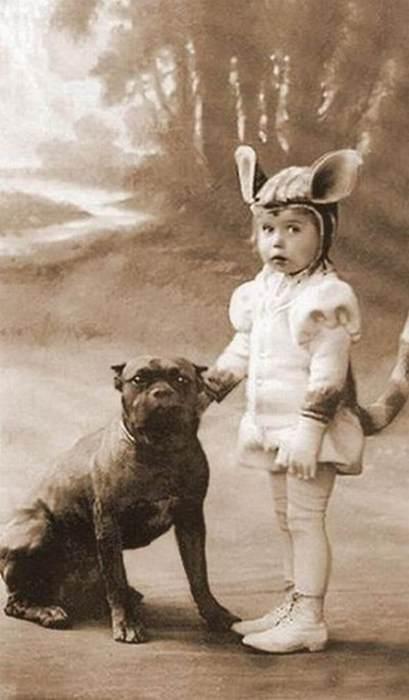 vintage fun child