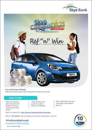 REF & WIN: Skye Bank Rewards OAU Students At Grand Finale Campus Storm