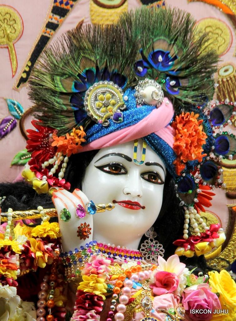 ISKCON Juhu Sringar Deity Darshan 10 Jan 2017 (80)