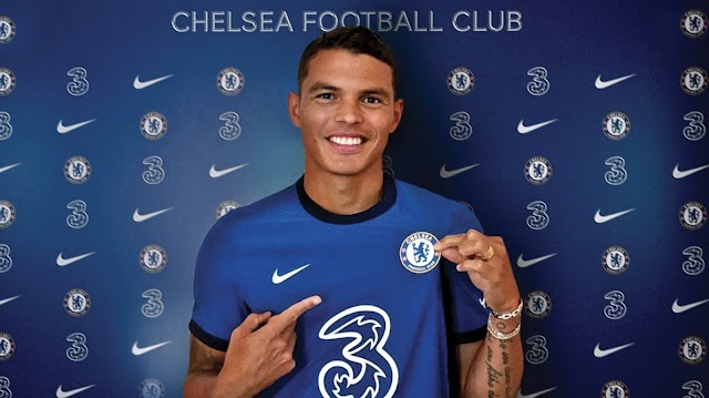 Chelsea Completes The Signing Of Veteran Defender, Thiago Silva From PSG