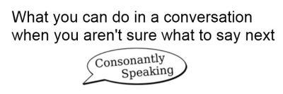 What to do in conversation Pinterest image