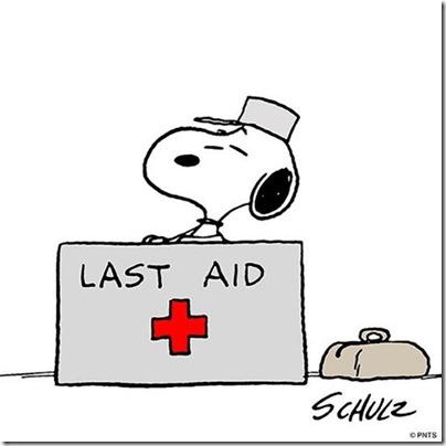 Snoopy Last Aid