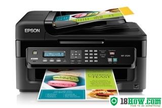 How to Reset Epson WorkForce WF-2520 inkjet printer – Reset flashing lights problem