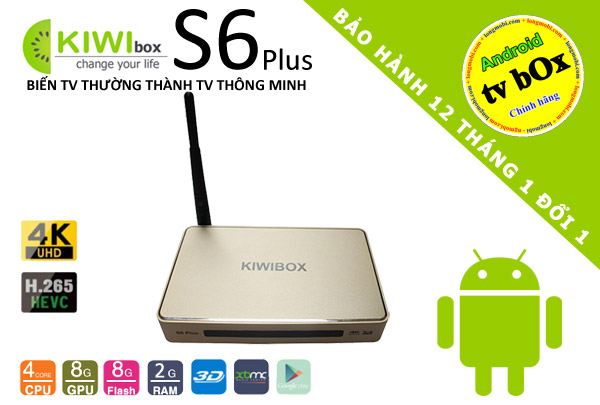 tivi box android kiwi s6 plus thai nguyen