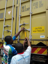 Photo: First BfW container arriving in Kenya