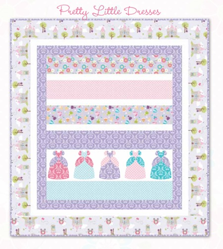 Pretty Little Dresses quilt pattern