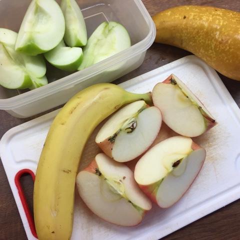 Obst zum Mitnehmen
